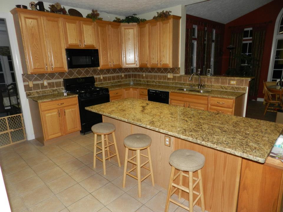 Kitchen Granite Installation B
